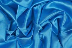 Blå siden- torkduk av krabb abstrakt bakgrund Royaltyfri Bild
