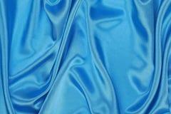 Blå siden- torkduk av krabb abstrakt bakgrund Royaltyfria Bilder
