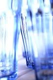 blå singel Arkivfoton
