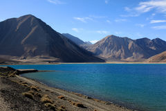 Blå sjö Royaltyfri Foto