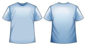 blå skjorta royaltyfri illustrationer
