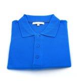blå skjorta Arkivbilder