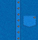 Blå skjorta för bakgrund Royaltyfri Fotografi