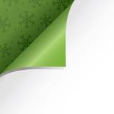 blå skugga för prydnad för julblommaillustration Royaltyfri Bild