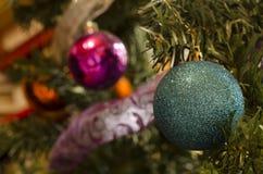 blå skugga för prydnad för julblommaillustration Royaltyfria Foton