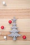 blå skugga för prydnad för julblommaillustration Arkivbilder