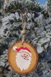 blå skugga för prydnad för julblommaillustration Arkivfoton