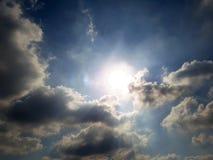blå sky royaltyfria foton