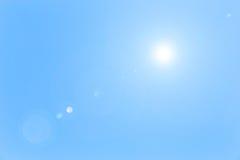 blå sky för bakgrund Royaltyfria Foton