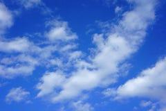 blå sky för bakgrund Fotografering för Bildbyråer