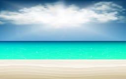 blå sky för bakgrund royaltyfri illustrationer