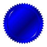 Blå skyddsremsa royaltyfri illustrationer
