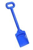 blå skyffel Arkivfoton