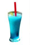 blå smaksatt smoothie för mint för isfruktsaftlimefrukt Royaltyfria Foton