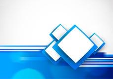 blå soft för bakgrund Arkivfoto