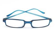 blå solglasögon Royaltyfria Foton