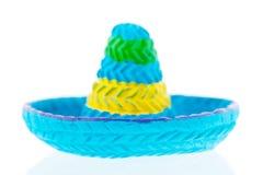 Blå sombrero Royaltyfri Bild