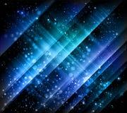 blå sparkling vektor för bakgrund Arkivbild