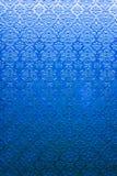 Blå spegel i thai texturbakgrund Royaltyfri Foto