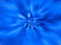 blå starburst Royaltyfri Fotografi