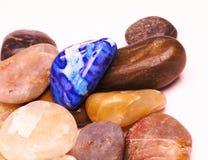 blå sten Fotografering för Bildbyråer
