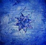blå stjärna Fotografering för Bildbyråer