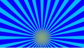 Blå sunburstabstrakt begreppbackgrund Royaltyfria Foton