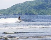 blå surfare Royaltyfri Fotografi