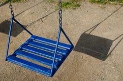 blå swing Royaltyfri Bild
