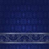 Blå tappningbakgrund Arkivbild