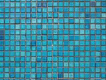 blå tegelplatta Royaltyfri Foto