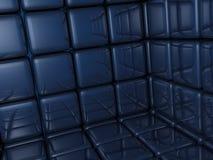 blå tegelsten Royaltyfria Bilder
