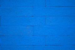 blå tegelstenvägg royaltyfria bilder