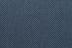 Blå textilbakgrundscloseup Struktur av tygmakroen Arkivbilder