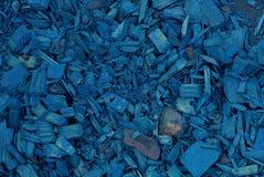 Blå textur av torrt sågspånträ för bot arkivbilder