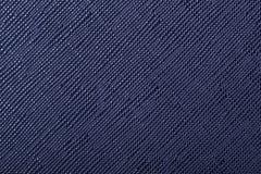 Blå textur för efterföljdläder eller läderbakgrund Arkivbilder