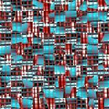 Blå textur. Sömlös bakgrund för vektor vektor illustrationer