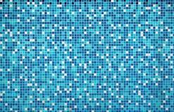 Blå texturpöltegelplatta Royaltyfri Foto