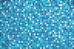 Blå texturpöltegelplatta Royaltyfria Bilder