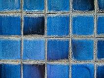 blå texturtegelplatta Royaltyfria Bilder