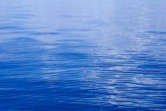 blå texturwave för djupt hav Arkivfoton