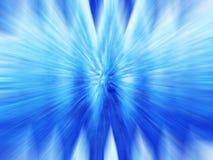 blå tidwarp Fotografering för Bildbyråer