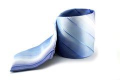 blå tie Royaltyfria Bilder