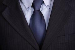 blå tie royaltyfri bild