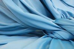 Blå torkdukebakgrund Arkivfoton