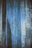 Blå träabstrakt textur Blå tappningträbakgrund Abstrakt textur och bakgrund för formgivare Makrosikt av blått trä Arkivbild