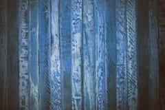 Blå träabstrakt textur Blå tappningträbakgrund Abstrakt textur och bakgrund för formgivare Makrosikt av blått trä Arkivfoton