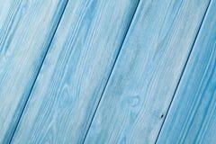 Blå trätabellbakgrund för land arkivfoton