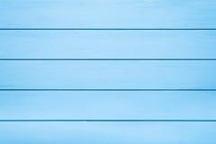 Blå trätabelltextur royaltyfria bilder