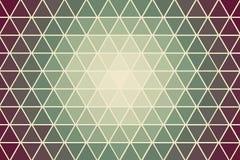 Blå triangellutningtextur Arkivfoto